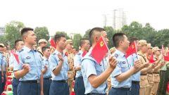 解放軍和武警部隊官兵多種形式迎接黨的百歲華誕