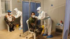 中國赴黎維和醫療分隊為聯黎部隊接種第二劑新冠疫苗