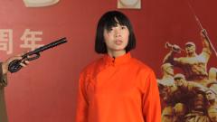 女战士演绎情景剧《刘胡兰》 再现刘胡兰感人故事