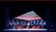 现代京剧《延安往事》在解放军北京老干部活动中心上演