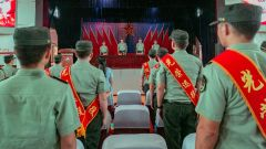 别了,我的军营!各地相继举行2021年度军官退役仪式