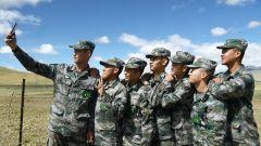 雪域高原再迎新传人!西藏山南军分区某边防团举行新兵入营仪式