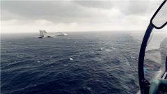 战鹰雨中出击  东部战区海军航空兵开展复杂气象条件下大强度飞行训练