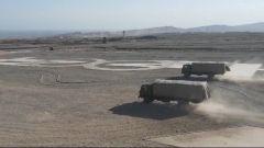 荒野大漠 一场特技驾驶正在上演