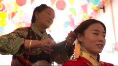 三代拥军的藏族阿妈拿出了珍藏多年的饰品,为军嫂准备一场特殊婚礼