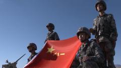 """解放军各部队多种形式迎接""""八一""""建军节"""