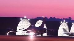 """关注朝鲜半岛局势 紧盯朝韩 美军F-16与""""全球鹰""""齐出动"""