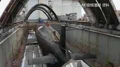 俄海军新型核潜艇已于北德文斯克下水