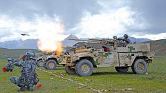 雪域高原炮声隆 陆军第77集团军某旅火力分队实弹射击考核掠影