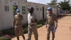 中國第九批赴馬里維和警衛分隊通過聯合國首次裝備核查